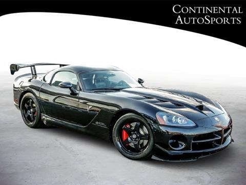 2010 Dodge Viper For Sale in Fishers, IN - Carsforsale.com