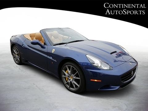 2011 Ferrari California For Sale In Hinsdale, IL