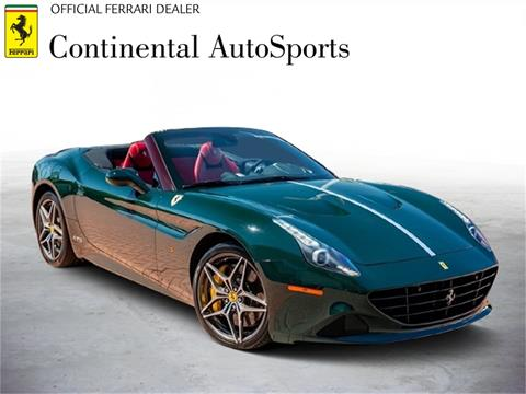 2018 Ferrari California T for sale at CONTINENTAL AUTO SPORTS in Hinsdale IL
