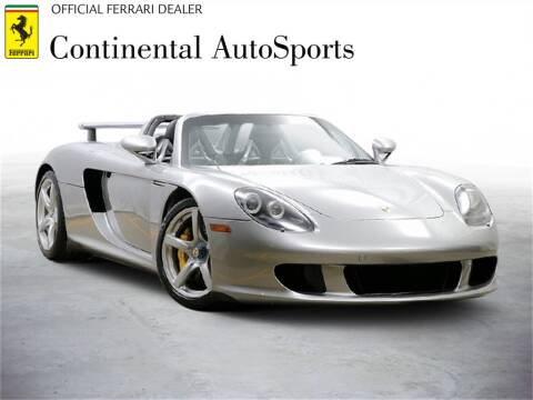 2005 Porsche Carrera GT for sale at CONTINENTAL AUTO SPORTS in Hinsdale IL