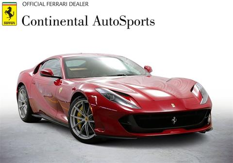 2018 Ferrari 812 Superfast for sale at CONTINENTAL AUTO SPORTS in Hinsdale IL