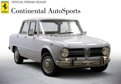 1970 Alfa Romeo Giulia for sale at CONTINENTAL AUTO SPORTS in Hinsdale IL