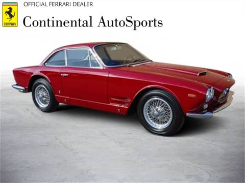 1963 Maserati Sebring for sale at CONTINENTAL AUTO SPORTS in Hinsdale IL