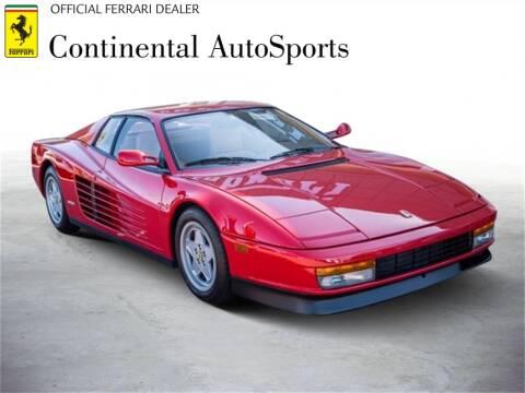 1990 Ferrari Testarossa For Sale In Hinsdale Il