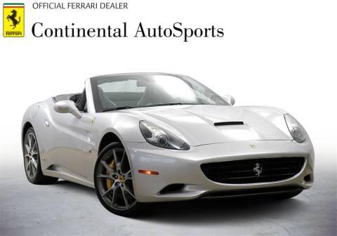 2012 Ferrari California For Sale In Hinsdale Il