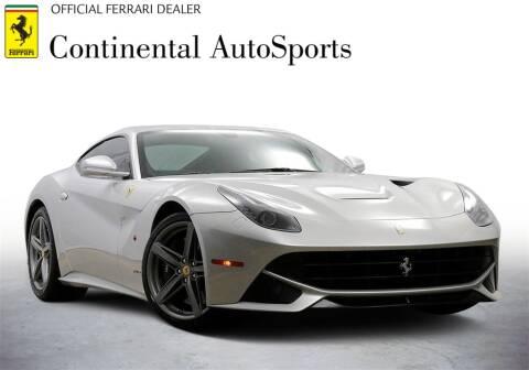 2013 Ferrari F12berlinetta for sale at CONTINENTAL AUTO SPORTS in Hinsdale IL