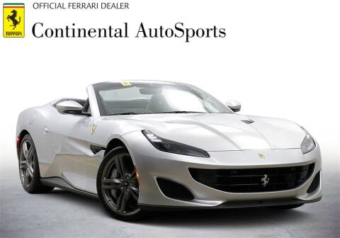 2020 Ferrari Portofino for sale at CONTINENTAL AUTO SPORTS in Hinsdale IL
