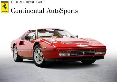 1988 Ferrari 328 GTB for sale at CONTINENTAL AUTO SPORTS in Hinsdale IL