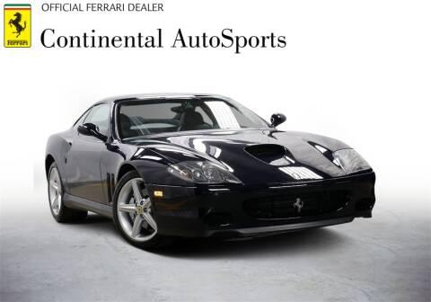 2002 Ferrari 575M for sale at CONTINENTAL AUTO SPORTS in Hinsdale IL