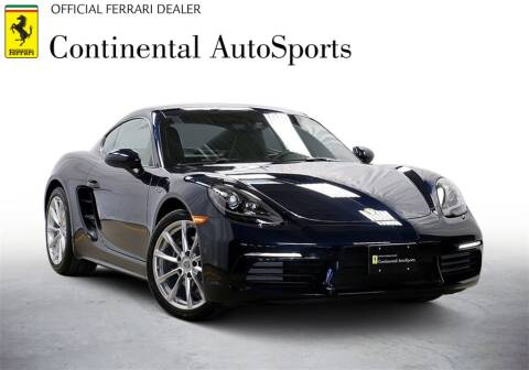 2019 Porsche 718 Cayman for sale at CONTINENTAL AUTO SPORTS in Hinsdale IL