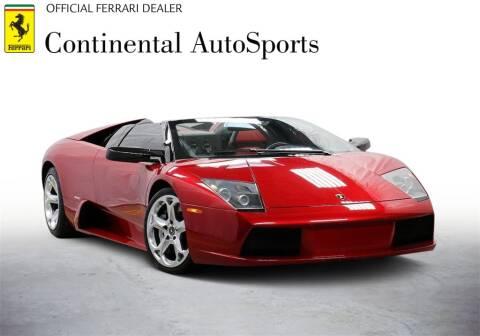 2006 Lamborghini Murcielago for sale at CONTINENTAL AUTO SPORTS in Hinsdale IL