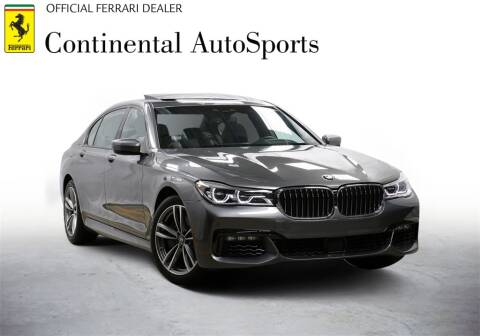 2019 BMW 7 Series for sale at CONTINENTAL AUTO SPORTS in Hinsdale IL