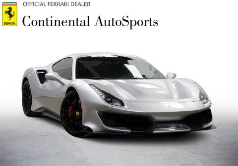 2019 Ferrari 488 Pista for sale at CONTINENTAL AUTO SPORTS in Hinsdale IL
