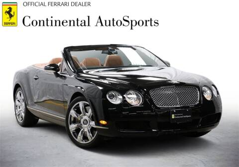 2007 Bentley Continental for sale at CONTINENTAL AUTO SPORTS in Hinsdale IL
