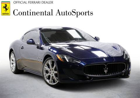 2014 Maserati GranTurismo for sale at CONTINENTAL AUTO SPORTS in Hinsdale IL