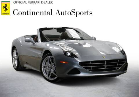 2016 Ferrari California T for sale at CONTINENTAL AUTO SPORTS in Hinsdale IL