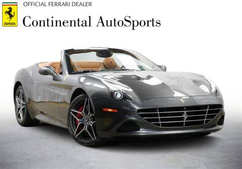 2015 Ferrari California T for sale at CONTINENTAL AUTO SPORTS in Hinsdale IL