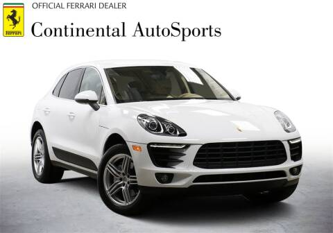 2015 Porsche Macan for sale at CONTINENTAL AUTO SPORTS in Hinsdale IL