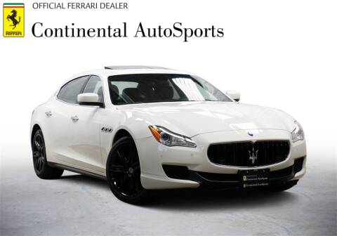 2014 Maserati Quattroporte for sale at CONTINENTAL AUTO SPORTS in Hinsdale IL
