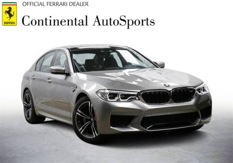 2018 BMW M5 for sale at CONTINENTAL AUTO SPORTS in Hinsdale IL