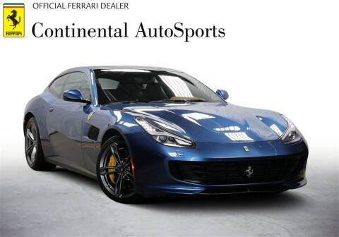 2017 Ferrari GTC4Lusso for sale at CONTINENTAL AUTO SPORTS in Hinsdale IL