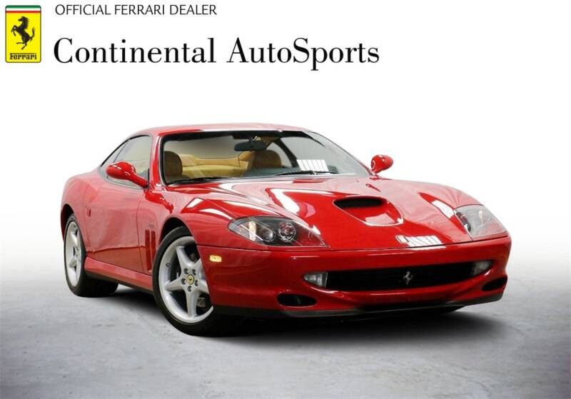 1999 Ferrari 550 for sale at CONTINENTAL AUTO SPORTS in Hinsdale IL
