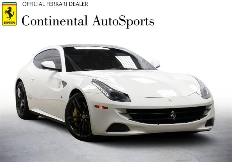 2016 Ferrari FF for sale at CONTINENTAL AUTO SPORTS in Hinsdale IL
