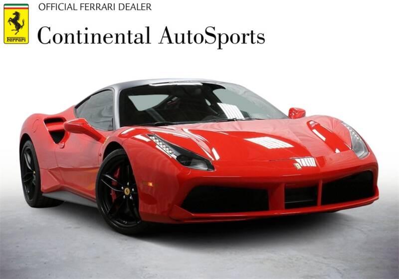 2016 Ferrari 488 GTB for sale at CONTINENTAL AUTO SPORTS in Hinsdale IL