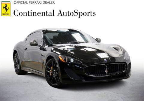 2012 Maserati GranTurismo for sale at CONTINENTAL AUTO SPORTS in Hinsdale IL