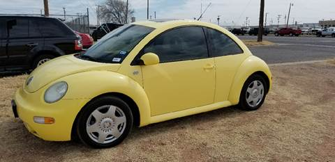 2001 Volkswagen New Beetle for sale at QUALITY MOTOR COMPANY in Portales NM