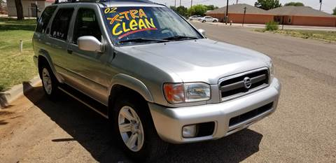 2002 Nissan Pathfinder for sale at QUALITY MOTOR COMPANY in Portales NM