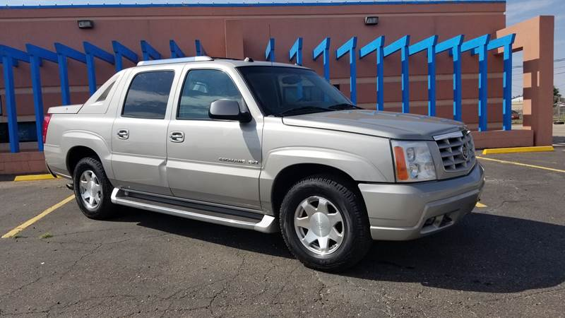 2004 Cadillac Escalade EXT for sale at QUALITY MOTOR COMPANY in Portales NM