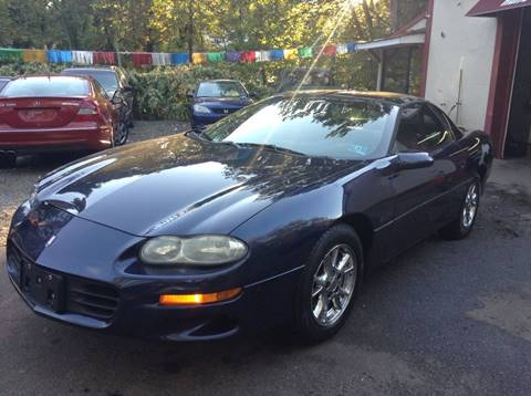 2002 Chevrolet Camaro for sale in Butler, NJ