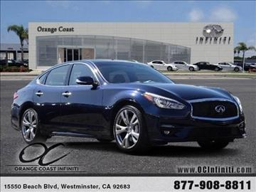 2017 Infiniti Q70 for sale in Westminster, CA