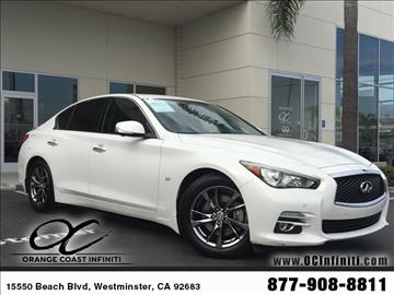 2014 Infiniti Q50 for sale in Westminster, CA