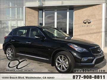 2017 Infiniti QX50 for sale in Westminster, CA