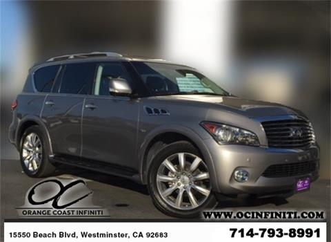 2014 Infiniti QX80 for sale in Westminster, CA