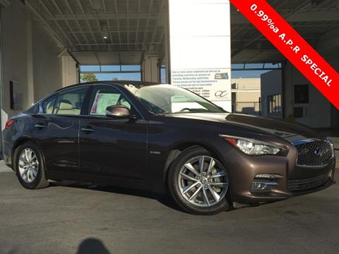 2014 Infiniti Q50 Hybrid for sale in Westminster, CA