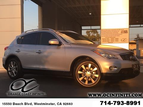 2011 Infiniti EX35 for sale in Westminster, CA