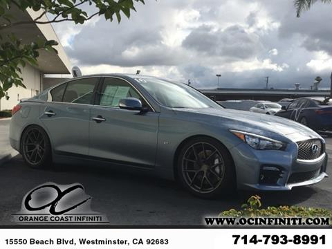 2015 Infiniti Q50 for sale in Westminster, CA