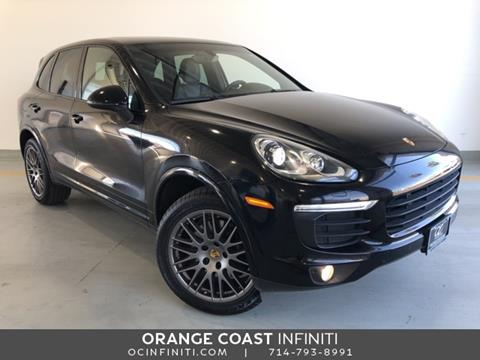2017 Porsche Cayenne for sale in Westminster, CA