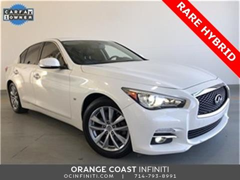 2015 Infiniti Q50 Hybrid for sale in Westminster, CA