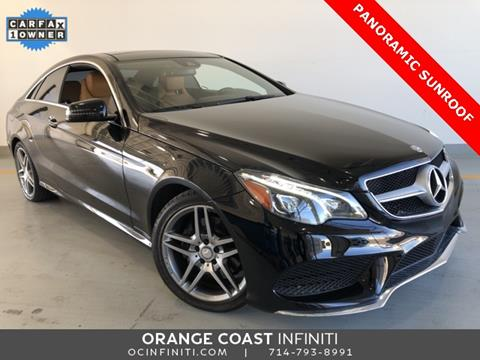 2016 Mercedes-Benz E-Class for sale in Westminster, CA