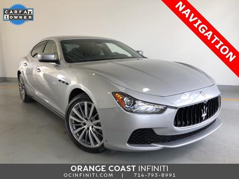2016 Maserati Ghibli for sale in Westminster, CA