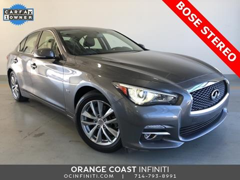 2016 Infiniti Q50 for sale in Westminster, CA