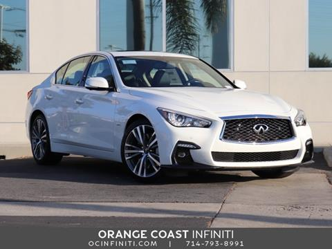 2020 Infiniti Q50 for sale in Westminster, CA