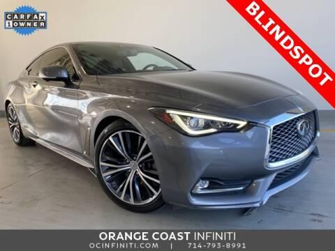 2017 Infiniti Q60 3.0T Premium for sale at ORANGE COAST CARS in Westminster CA