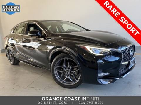 2017 Infiniti QX30 Sport for sale at ORANGE COAST CARS in Westminster CA