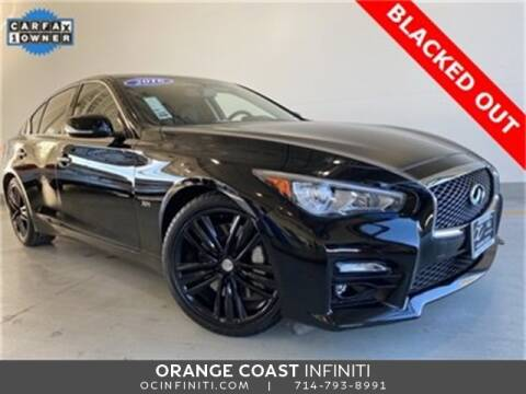 2017 Infiniti Q50 for sale at ORANGE COAST CARS in Westminster CA