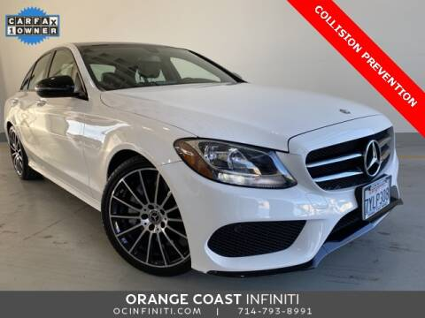 2017 Mercedes-Benz C-Class C 300 for sale at ORANGE COAST CARS in Westminster CA